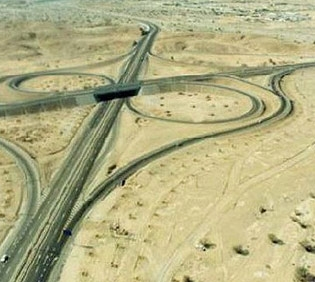 Abu Dhabi – Al Ain Interchange No.5
